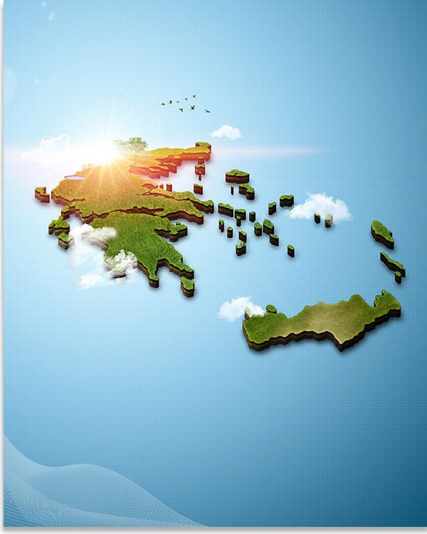 Τρισδιάστατος Χάρτης της Ελλάδας